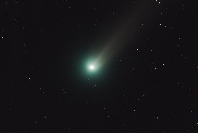 La Comète Lovejoy près de la Grande Ourse