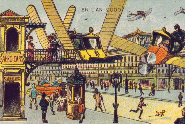The Year 2000, imagined by 1899 artist Jean-Marc Côté