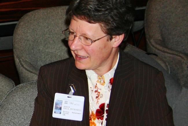Susan Jocelyn Bell (Burnell), 2009
