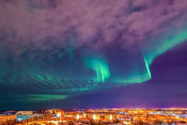 Aurora Borealis In Yellowknife