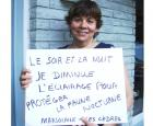 Marjolaine est l'unique ambassadrice à avoir mis de l'avant ce geste simple © Espace pour la vie