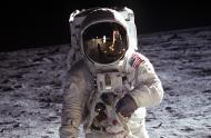 Buzz Aldrin sur la surface de la Lune - carrousel