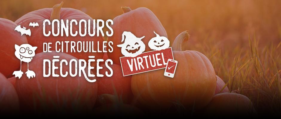 Concours de citrouilles décorées virtuel - carrousel