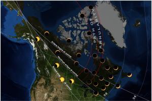 20210610 eclipse map Canada