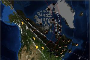 Carte éclipse 20210610 Canada