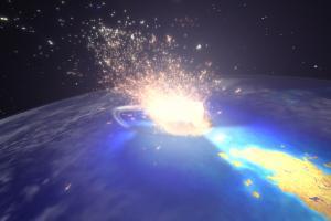 Cosmics Collisions / EXO