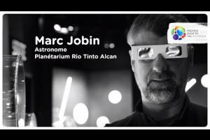 Portrait d'un astronome du Planétarium Rio Tinto Alcan