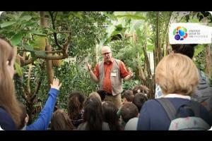 Portrait of a Science Guide at the Jardin botanique