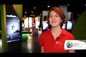 Le métier d'animatrice scientifique au Planétarium Rio Tinto Alcan