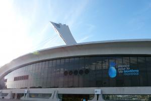 Building of the Biodôme