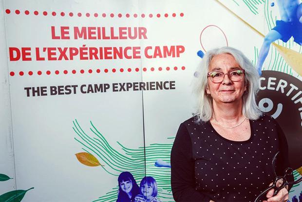 Violène Simard, récipiendaire 2019 du Prix Hommage de l'Association des camps du Québec