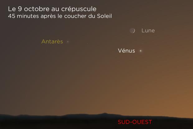 20211009 Croissant de Lune et Vénus