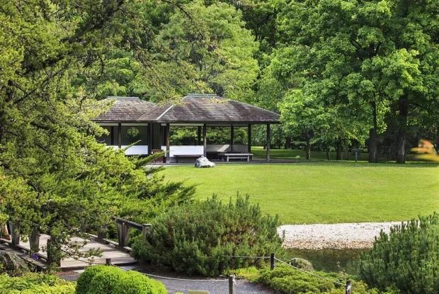Le belvédère du Jardin japonais
