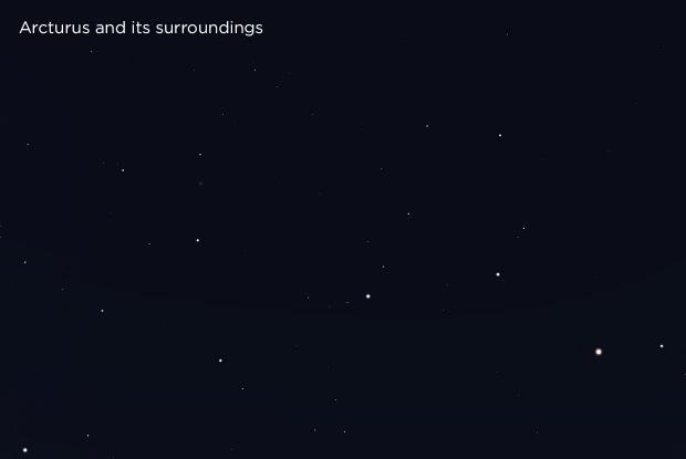 Arcturus and its surroundings (base)