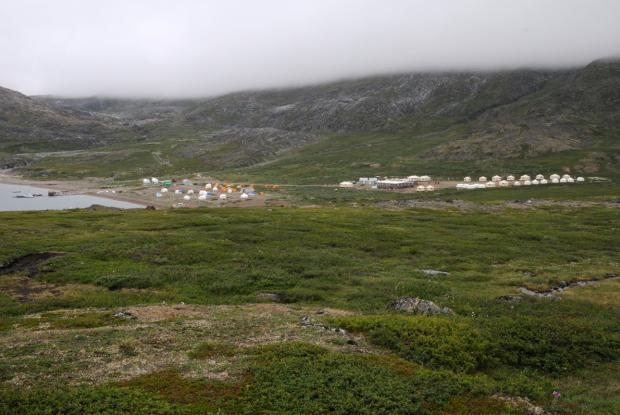 Torngat Mountains National Park base camp