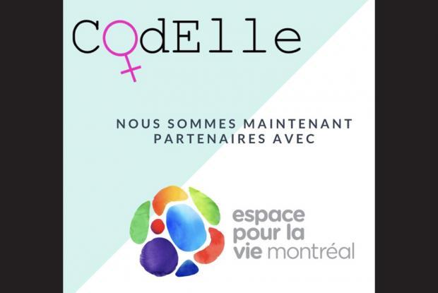 Sessions de programmation destinées aux filles de 12 ans et plus et aux femmes avec l'association Codelle au Planétarium.
