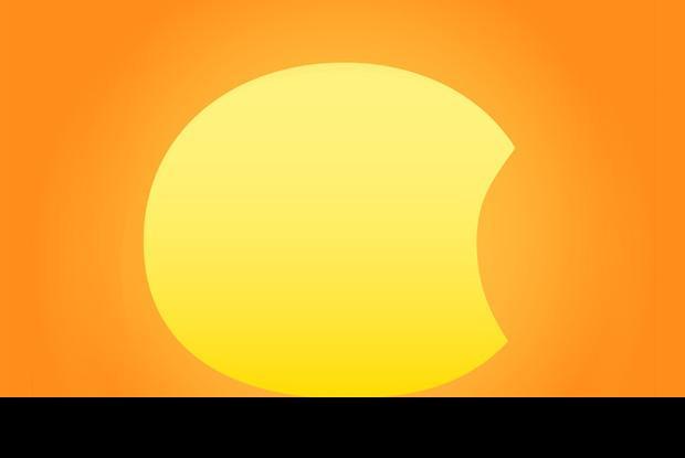 Éclipse solaire - 2014-10-23
