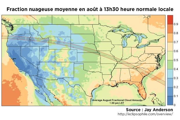 Fraction nuageuse moyenne août 13h30
