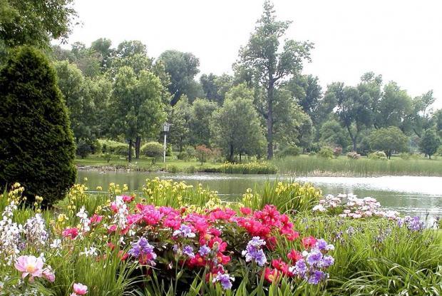 Ruisseau fleuri et Étangs