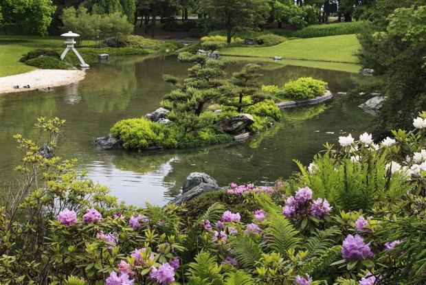 Jardin japonais du Jardin botanique de Montréal