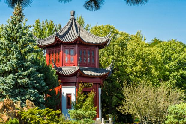 Architecture Of The Chinese Garden Space For Life