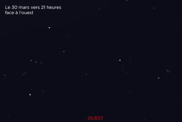Mars Pléiades et Hyades 20190330