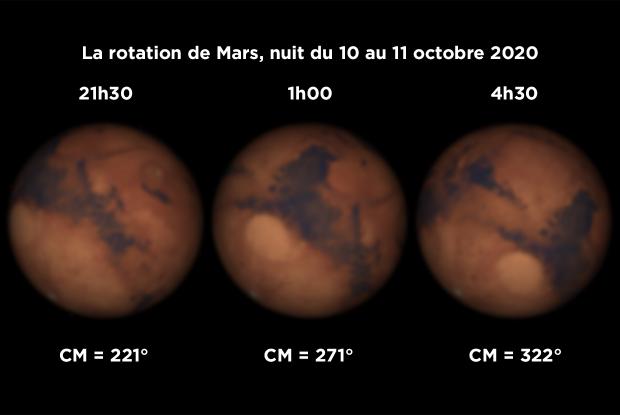 Mars rotation 20201010-11 FR