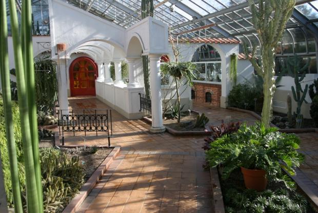 Greenhouse of tropical forests