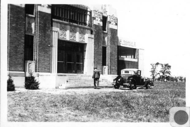 Administration pavilion, 1936