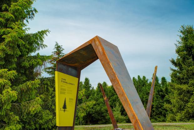 Interpretive trail of the Arboretum