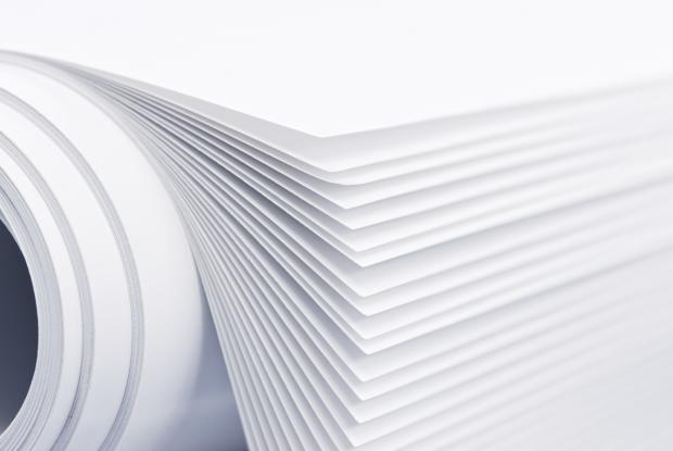Roll of paper.