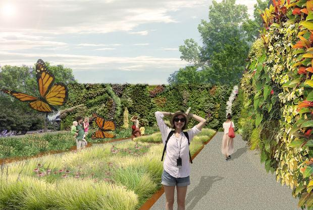 Pathway to Phytotechnologies - Living plant wall