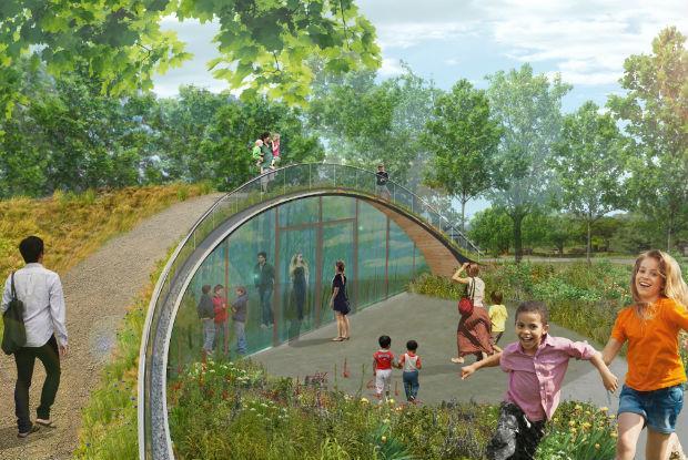 Le Parcours des phytotechnologies - Les marais filtrants et le toit végétal