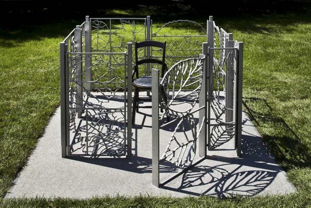 Un jardin à soi, une oeuvre de Michel Goulet.