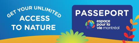 Espace pour la vie Passport - mobile