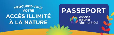 Passeport Espace pour la vie - mobile