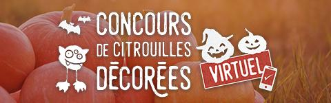 Concours virtuel de citrouilles décorées - mobile