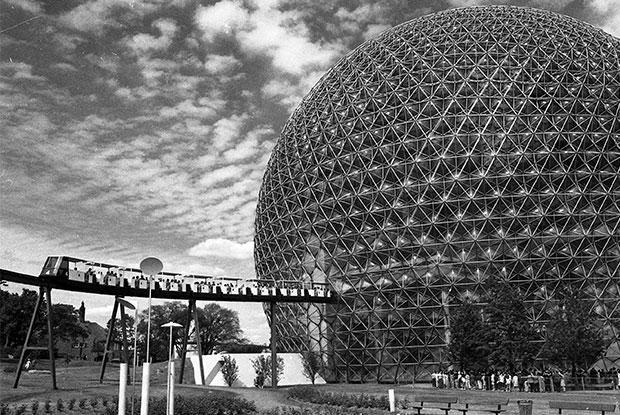 Structure of the Biosphere taken around 1967