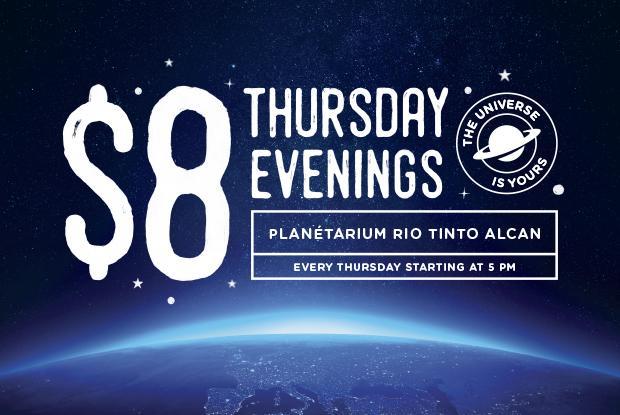 jeudi soir planetarium