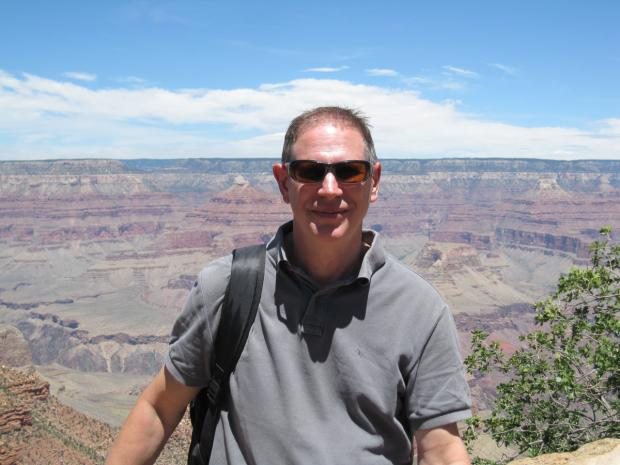 Marc St-Arnaud au South Rim du Grand Canyon