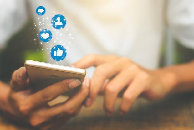 Espace pour la vie sur les médias sociaux