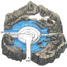 Carte des côtes du labrador