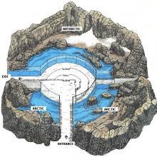 Sub-Antarctic Islands map