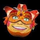 Box - Decorated pumpkin
