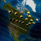 Carte éclipse 20170821 Amérique du Nord